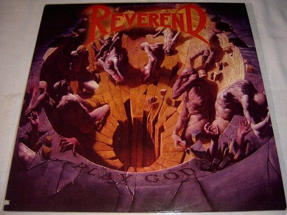 Lp Reverend - Play God 1st Press 1991 Uk Power Thrash Metal