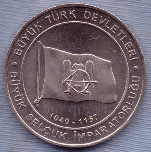 Imagen 1 de 2 de Turquia 1 Kurus 2015 * Imperio Seljuk (1040-1157) *