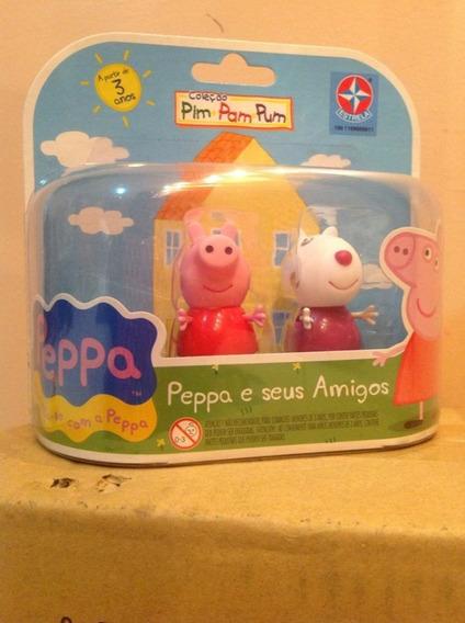 Peppa Pig E Suzy Da Estrela 06 Cm - Bonellihq K18