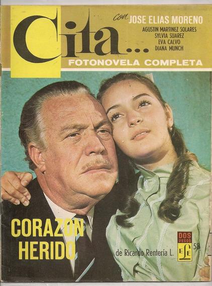 Fotonovela Cita # 58 José Elías Moreno Sylvia Suárez 1967