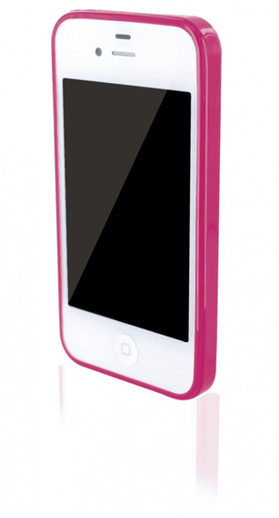 Case Rosa Para Iphone 4s