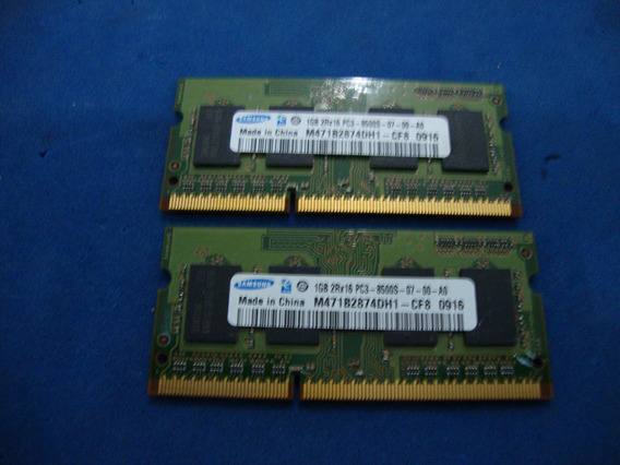 2 Memoria 1gb Apple Macbook Pro A1278