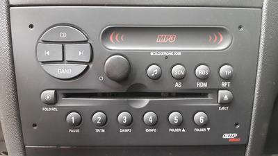 Desbloqueo Reproductor Chevrolet Optra, Opel, Meriva, Astra.