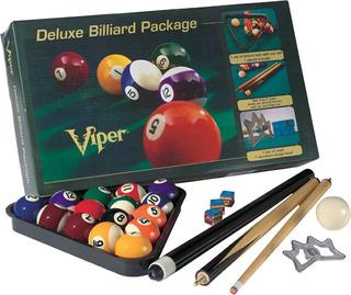 Juego De Billar Accesorios Viper Deluxe Billiard