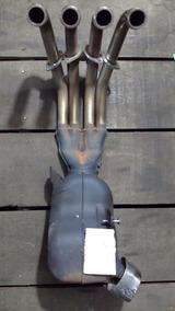 Ponteira Escape Completa Original Yamaha Xj6