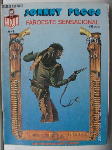 Johnny Pecos Faroeste Sensacinal N- 1