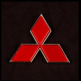 Emblemas Mitsubishi Cromados Nuevos!!!