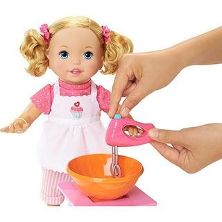 Preparando Galletas - Little Mommy Muñeca Original Español