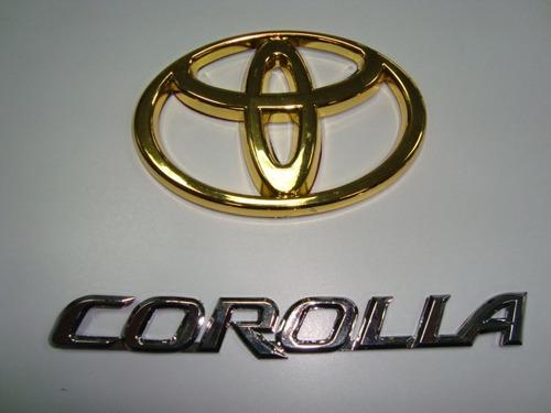 Emblemas Toyota Cromados Nuevos!!!