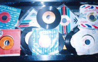 4 Discos Acetato 45rpm Escoja Cantantes Segun Listado 5 Verd