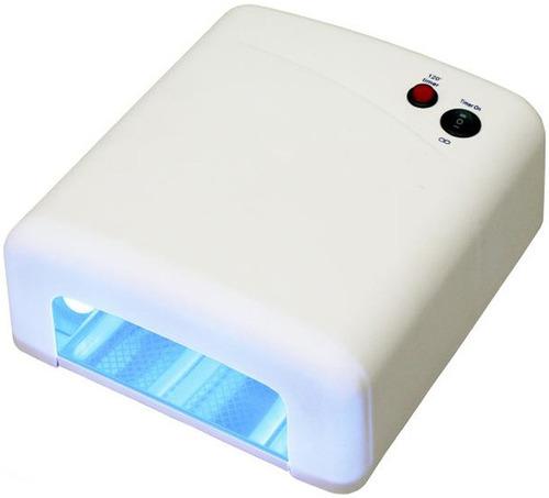 Secador De Uñas Ultravioleta Gel 36w Timmer Y Fusible