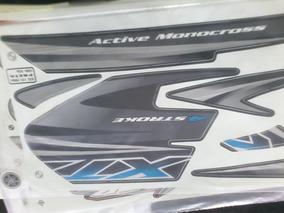 Adesivo Kit Faixa Xtz 125