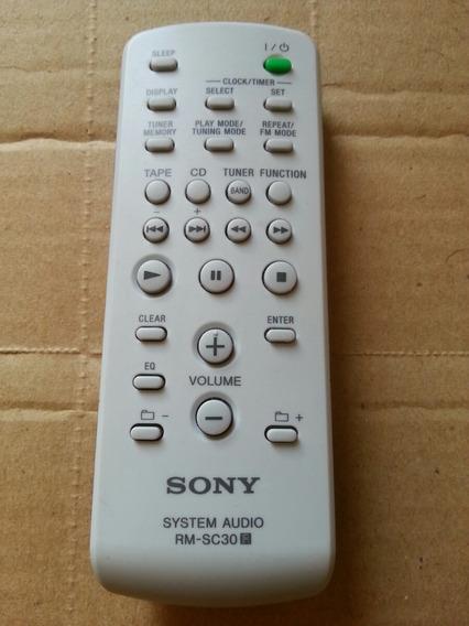 Controle Sony Rm-sc40 System Audio Original #7
