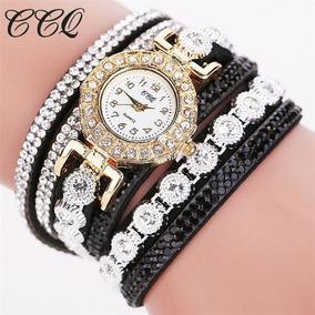 Relógio Feminino Bracelete Pulseira P/ Festas E Presente
