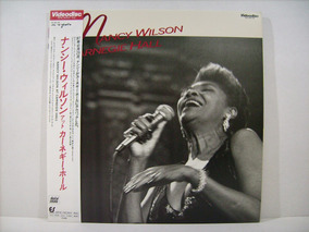 Ld - Laserdisc Nancy Wilson - At Carnegie Hall - Excelente