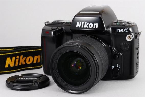 Câmera Nikon F90x + Lente Nikon Af Zoom-nikkor 28-80