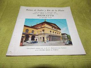 Rigoletto - Banco De Italia Y Río De La Plata
