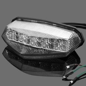 Lanterna Led Universal Para Moto, Triciclo, Quadriciclo