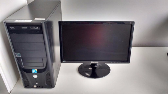 Computador Core 2 Quad Q9400 2.66ghz S775 + Monitor 19