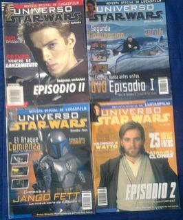 Lote Revistas Universo Star Wars