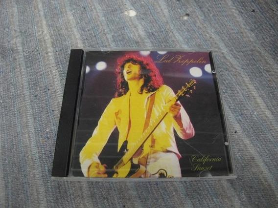 Cd: Led Zeppelin: California Sunset - Live In Long Beach