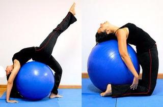 Bola Pilates Yoga Suiça Ginástica Fitness 55 Cm Bomba Grátis
