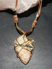 Colar Semi Jóia Pedras Naturais Preciosas - Pedra Do Sol 2