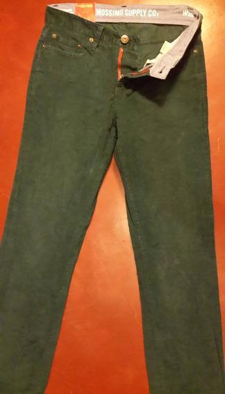 Pantalon Casual Mossimo & Suplly Original W30 L32 Corderoy