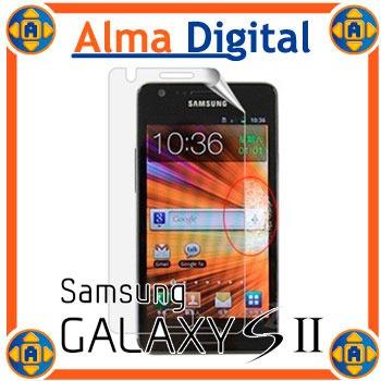 Lamina Protector Pantalla Samsung Galaxy S2 Sii Transparente