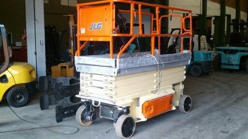 Plataforma Elevadora Tijera JLG/ Eleva 9,90 Mts. Electrica