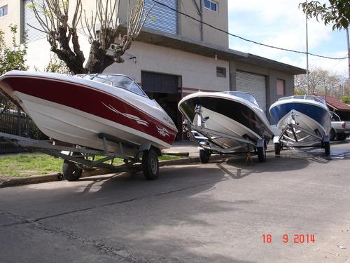 Imagen 1 de 12 de Lancha Open 3v Tango 470 Power Tec 40 Hp Nautica Milione 10
