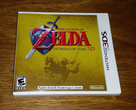 The Legend Of Zelda Ocarina Of Time 3d Nintendo 3ds New 3ds