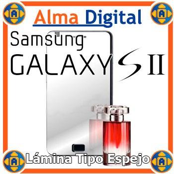 Lamina Protetor Pantalla Espejo Samsung S2