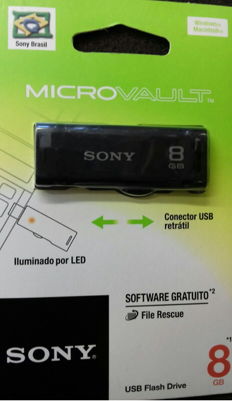 Pem Drive De 8gb Sony