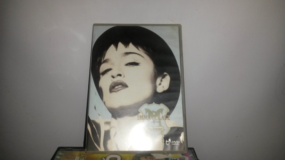 Dvd Original Madona The Immaculate