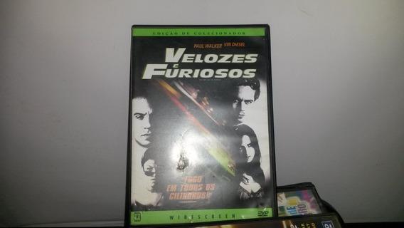 Dvd Original Velozes E Furiosos