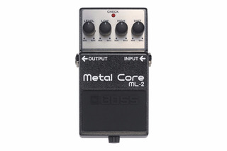 Boss Pedal Ml-2 Metal Core Metal Extremo!
