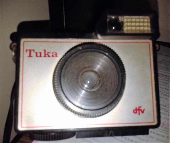 Maquina Camera Fotografica Tuka Dfv Para Colecionadores