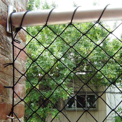Imagen 1 de 6 de Cerramiento Red Cerco Balcon Ventana Baranda Escalera Niños