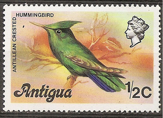 Antigua Ex Colonia - Pájaro Fauna 1 Valor Usado Yvert 397