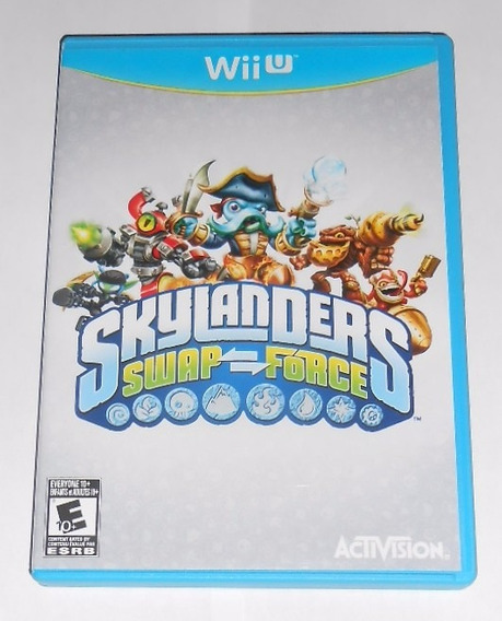 Skylanders Swap Force Original Nintendo Wii U Cr $15