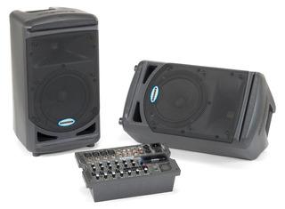 Bafles Samson Xp 308i Sistema De Audio Portable Envio Cuotas