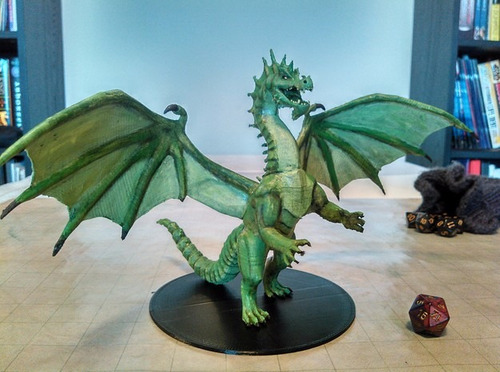 D&d Miniaturas Warhammer Impresion 3d - Colección Dragon