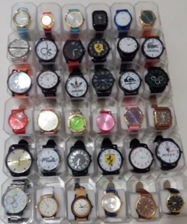 Atacado Relógios Femininos E Masculinos Kit Com 45 + Caixas