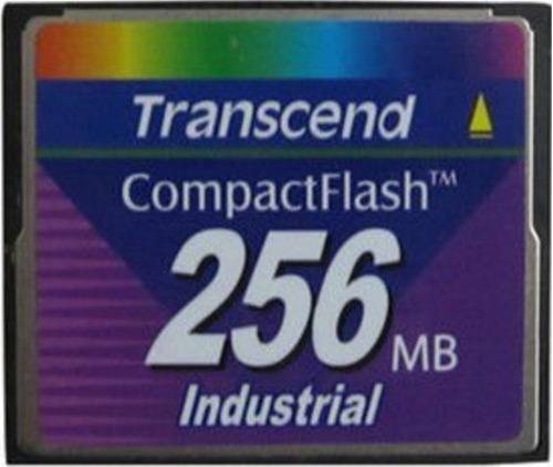 Imagem 1 de 1 de Compact Flash 256mb Transcend Industrial