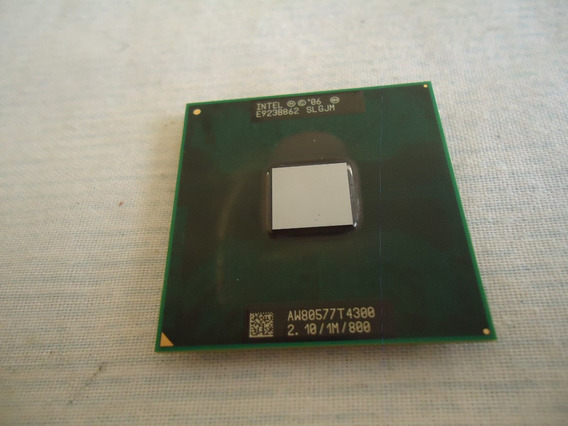 Processador Intel Core 2 Duo Aw80577 T4500 2.1 1mb 800mhz