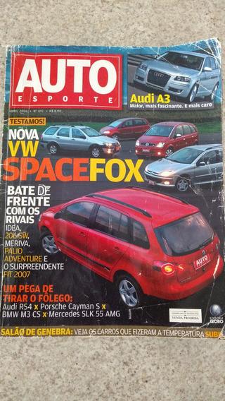 Auto Esporte Abril 2006 Spacefox F250 Fit Meriva Idea Hotrod