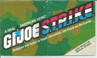 Gi Joe Strike / Catalogo / Usa / Dec 80´ / Hasbro /