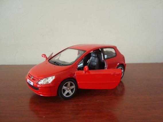 Mini Peugeot 307 Xsi Da Kinsmart Na Escala 1/32