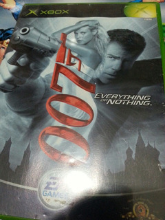 007 Everything Of Nothing Original Completo Xbox Clásica Sjl